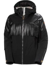 Helly Hansen W Sapporo Fringe Stretch Jacket - Black