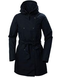 Helly Hansen Welsey Ii Trench Insulated Rain Jacket Navy - Blue