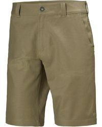 Helly Hansen Herren Essential Canvas Wander-shorts Mit 5 Taschen - Natur