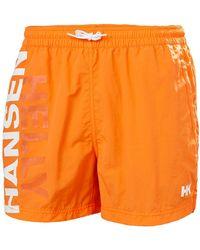 Helly Hansen CASCAIS TRUNK Pantalon Nautico - Naranja