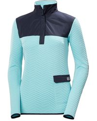 Helly Hansen Women's Lillo Quilted Pullover Jumper | Midlayer Blue