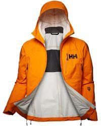 Helly Hansen Odin 3d Air Shell Lightweight Jacket - Orange