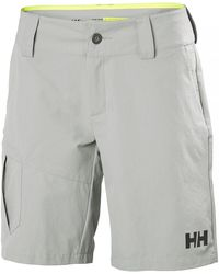 Helly Hansen Qd Cargo Shorts Sailing Trouser Gray