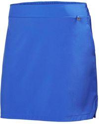 Helly Hansen Women's Thalia Mid Thigh Length Skirt   Sailing Trouser Blue