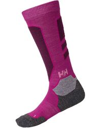 Helly Hansen Lifa Merino Black Alpine Baselayer Pink