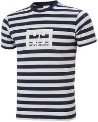 Helly Hansen Hh Box T-shirt - Blue