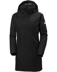 Helly Hansen Aden Insulated Coat Parka Black