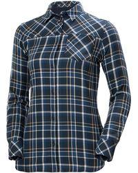 Helly Hansen Lokka Long Sleeve Lightweight Shirt - Blue
