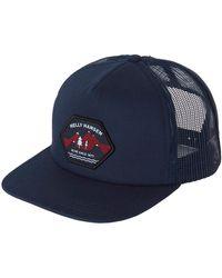 Helly Hansen Hh Flatbrim Trucker Cap - Blue