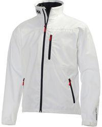Helly Hansen Crew Midlayer Waterproof Jacket - White
