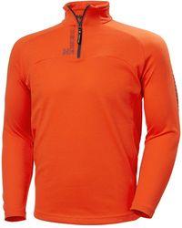 Helly Hansen HP 1/2 ZIP PULLOVER Camiseta interior - Rojo