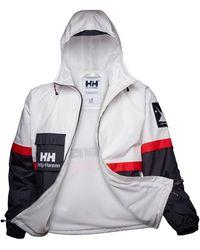 Helly Hansen YU20 RAIN JACKET Chubasquero - Blanco