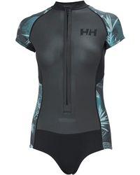 Helly Hansen W Waterwear Swimsuit   Neoprene Gb Sailing Trouser - Black