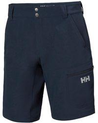 Helly Hansen Pantaloncini Impermeabili Softshell Brono - Blu