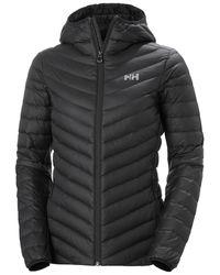 Helly Hansen Verglas Hooded Down Insulator Jacket - Black
