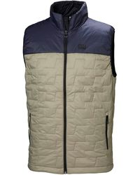 Helly Hansen Lifaloft Insulator Vest Fleece Beige - Multicolour