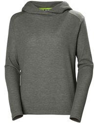 Helly Hansen Siren Quick-dry Everyday Wear Hoodie - Grey