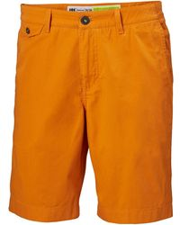 "Helly Hansen BERMUDA SHORTS 10"" Pantalon Nautico - Naranja"