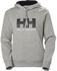 Helly Hansen W LOGO HOODIE - Gris