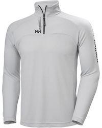 Helly Hansen HP 1/2 ZIP PULLOVER Camiseta interior - Gris