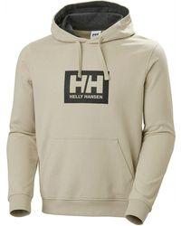 Helly Hansen Men's Box Classic Cotton Hoodie | Uk - Multicolor