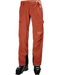 Helly Hansen Aurora Shell 2.0 Ski Trouser Red