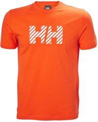 Helly Hansen Active Tshirt - Orange