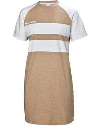 Helly Hansen Heritage Tshirt Dress Beige - Natural