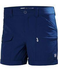 Helly Hansen Damen Maridalen Shorts Trousers Kurze Hose Neu - Blue