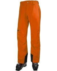 Helly Hansen - Legendary Insulated Ski Trouser Orange - Lyst