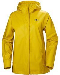 Helly Hansen Moss Rain Jacket Yellow