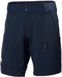 Helly Hansen CREWLINE CARGO SHORTS Pantalon Nautico - Azul