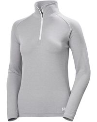 Helly Hansen W Verglas 1/2 Zip - Grey