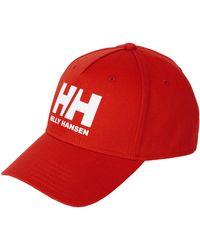 Helly Hansen BALL CAP - Rojo