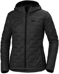 Helly Hansen W Lifaloft Hooded Insulator Jacket - Black