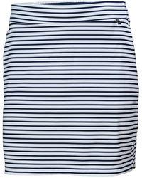 Helly Hansen Women's Thalia Mid Thigh Length Skirt   Sailing Trouser Navy - Blue