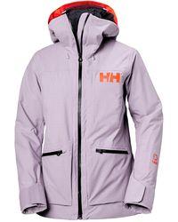 Helly Hansen - Powderqueen 3.0 Durable Ski Jacket L - Lyst