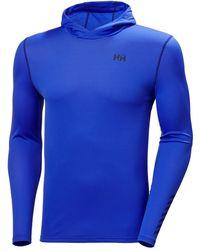 Helly Hansen Hh Lifa Active Solen Hoodie - Blue