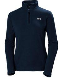 Helly Hansen Daybreaker 1/2 Zip Fleece Top - Blue