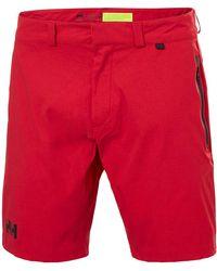 Helly Hansen HP RACING SHORTS Pantalon Nautico - Rojo