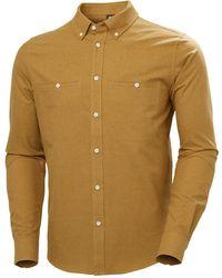 Helly Hansen - Organic Cotton Flannel Shirt Xxl - Lyst