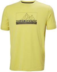 Helly Hansen - Skog Recycled Graphic T-shirt L - Lyst
