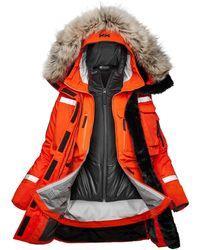 Helly Hansen Arctic Patrol Modular Parka L - Orange