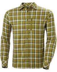 Helly Hansen Lokka Lightweight Long Sleeve Shirt - Green