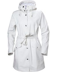 Helly Hansen Women's Kirkwall Ii Fully Waterproof Raincoat | Rain Jacket White