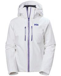 Helly Hansen - Alphelia Lightweight Lifaloft Ski Jacket - Lyst