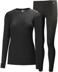 Helly Hansen W Comfort Light Set | Base Layer Gb Baselayer Black