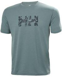 Helly Hansen - Skog Recycled Graphic T-shirt Xxl - Lyst