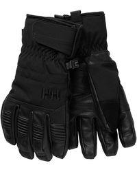 Helly Hansen W Leather Mix Glove - Black