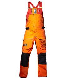 Helly Hansen Skagen Offshore Bib Pantalon De Voile - Orange